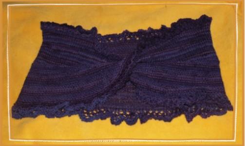 Möbiusschal | Lavendelhexe